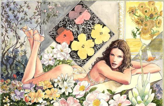 Illustrations by Milo Manara