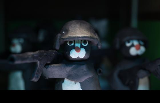 The Raid: Claymation w/Cats by Lee Hardcastle