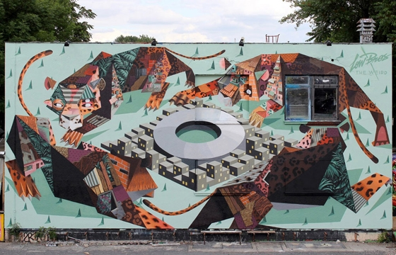 New Low Bros Mural at Urban Spree in Berlin