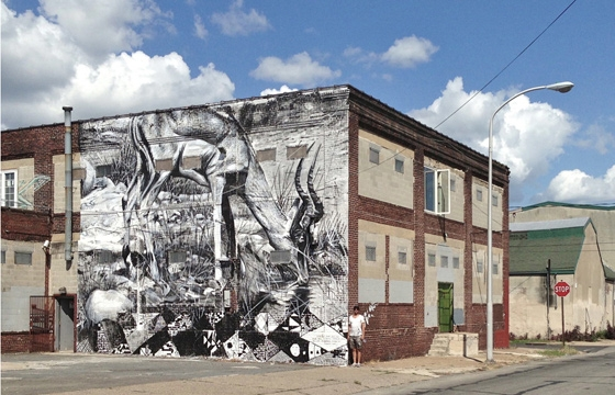 New Mural by Freddy Sam in Philadelphia