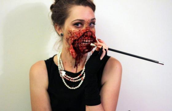 The Zombie Audrey Hepburn Costume (Late Edition)