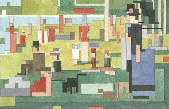 Adam Lister's 8-bit Watercolors