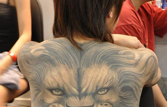 A Pretty Wild Back Piece