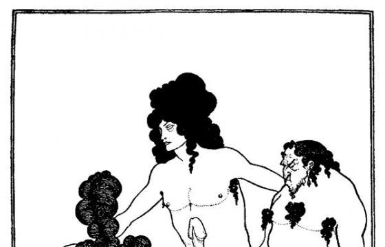 Aubrey Beardsley's Erotic Grotesque