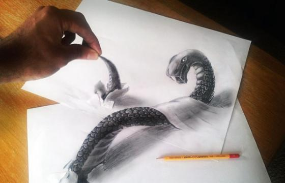 The 3D Drawings by Ramon Bruin