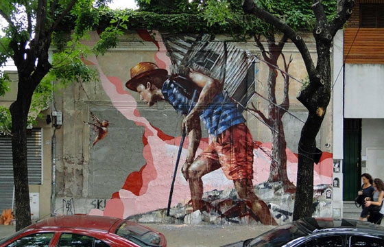 """Homeward Bound"" by Fintan Magee"