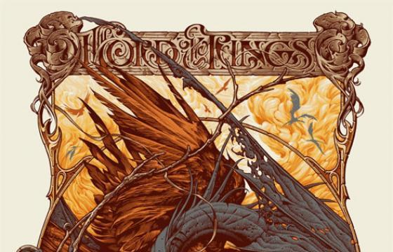 "Aaron Horkey ""The Lord of the Rings: The Return of the King"" Poster for Mondo"