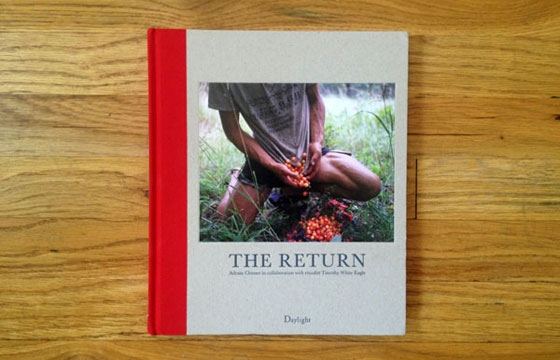 "A look inside Adrain Chesser's ""The Return"" published by Daylight Books"
