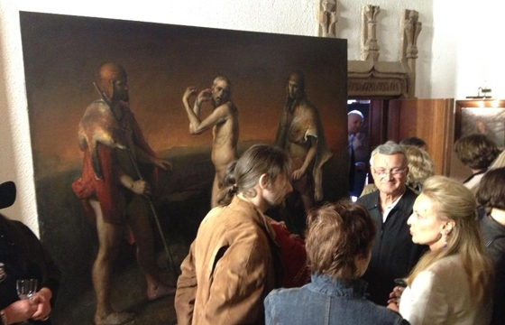 Odd Nerdrum Open House, Maisons-Laffitte, France