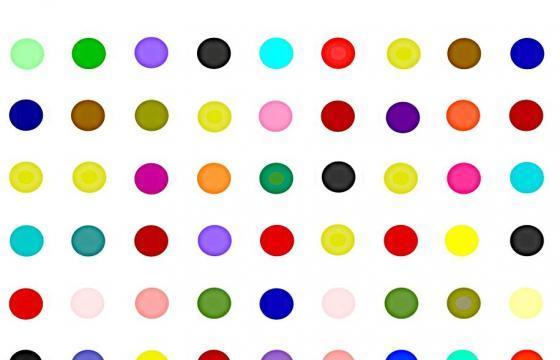 DAMIEN HIRST: The Complete Spot Paintings 1986-2011 @ All Gagosians