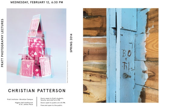 Pratt Photography lectures - Christian Patterson
