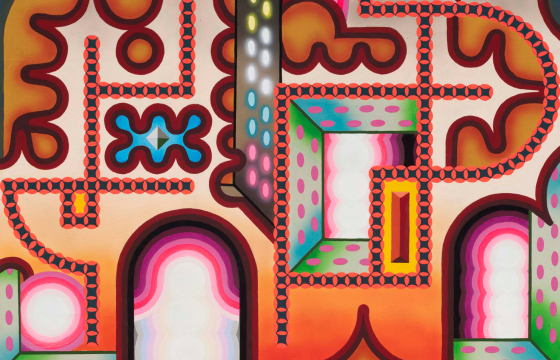 Gut Rehab: Edie Fake's Elaborate and Maze-like Paintings @ Western Exhibitions, Chicago