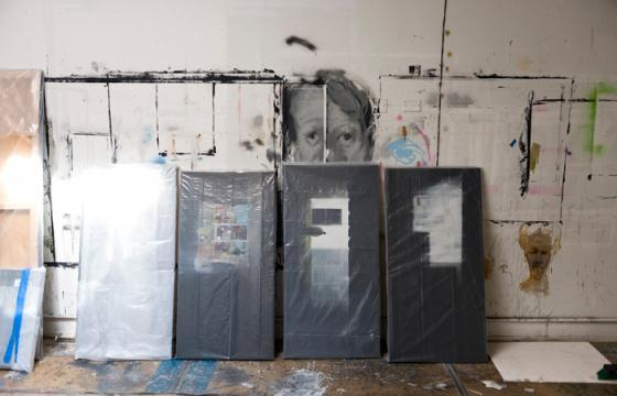 "Studio Visit: Brett Amory for ""Dark Light"" at Jonathan Levine Gallery"
