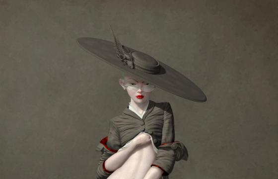 "Ray Caesar ""A Dangerous Inclination"" @ Corey Helford Gallery"