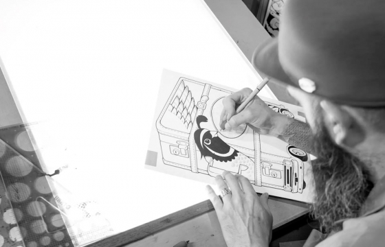 Juxtapoz x Adobe Present: The Making of... A Jeremy Fish Drawing