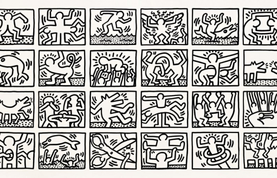 Keith Haring @ Pace Prints, Chelsea, NYC