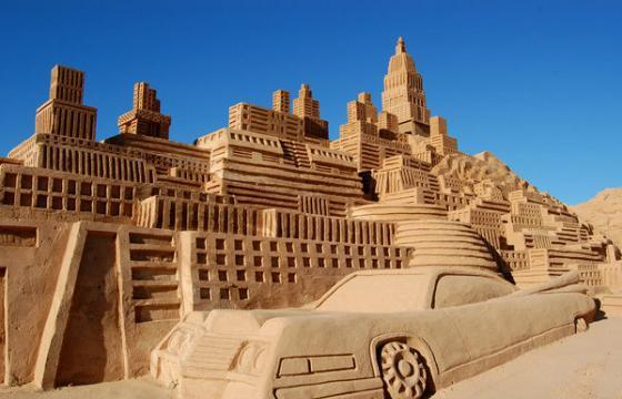 In Street Art: Sand Sculptures from Around the World