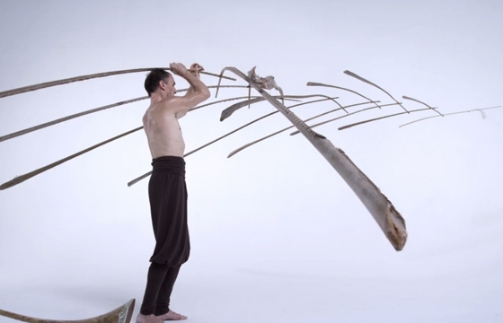 Watch: Maedir Eugster Balances 13 Palm Leaf Ribs and One Feather