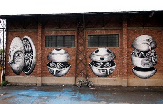 Phlegm in Turin, Italy