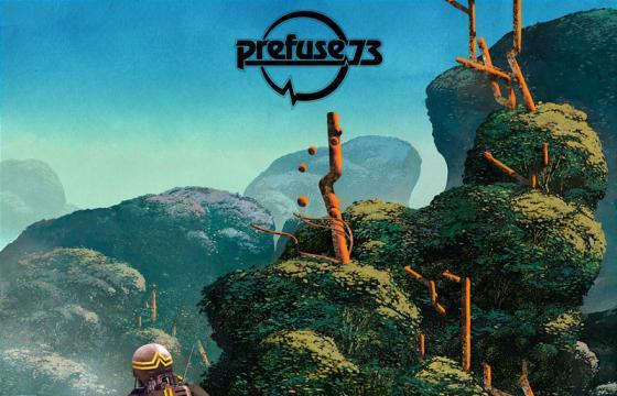 Sci-Fi Surreal Album Covers by Dan McPharlin