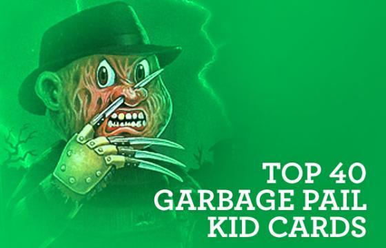 Pardee's Picks: Top 40 Garbage Pail Kid Cards