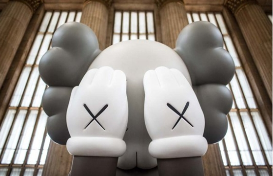 KAWS: Companion (Passing Through) @ Philadelphia's 30th Street Station
