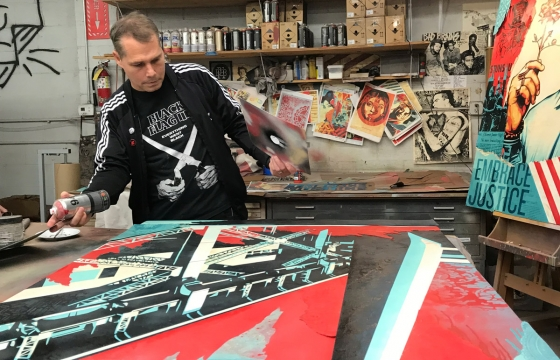 Interview: Shepard Fairey on His Newest Collaboration with Hublot Watches and Beyond the Streets