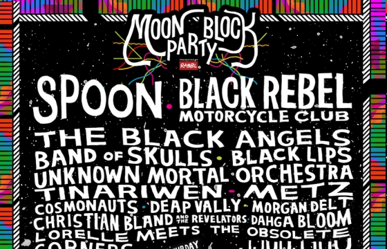 Moon Block Party Feat. Spoon, Black Rebel Motorcycle Club, and more...