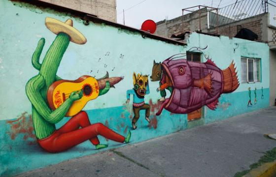 Saner x Sego x AEC Interesni Kazki in Mexico City