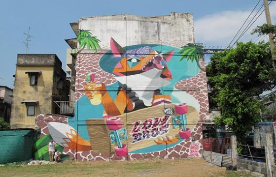 Juxtapoz Magazine - Low Bros in Bangkok