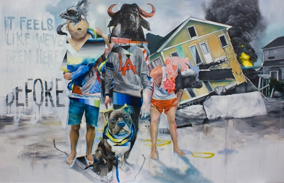 Preview: Joram Roukes, Adam Caldwell, Ekundayo + Rodrigo Luff @ Thinkspace, Culver City