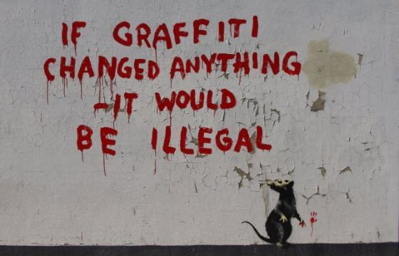 A New Banksy Rat?