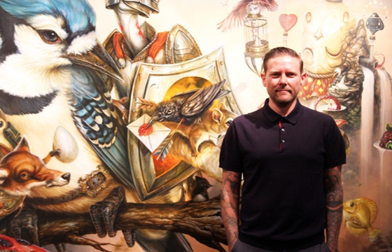"Juxtapoz Presents: Greg ""Craola Simkins"" - Good Knight"