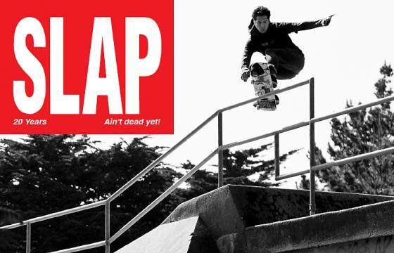 SLAP Mag 20 Year Anniversary Print Issue