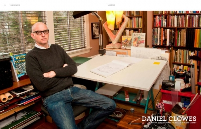 Daniel Clowes, September 2012