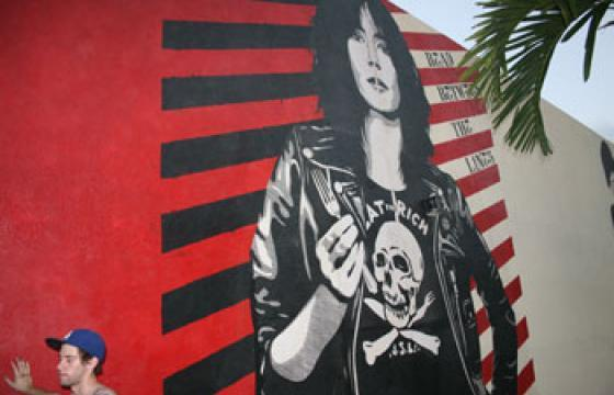 Don't Beleive the Hype: Miami OBEY Wall
