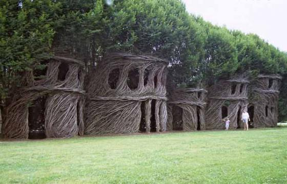 Video and Photos: The Environmental Works of Patrick Dougherty