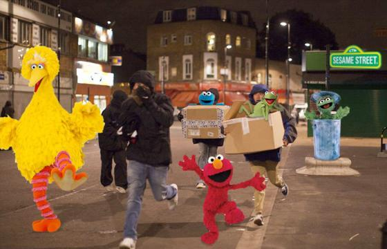 London Photoshoplooters Series