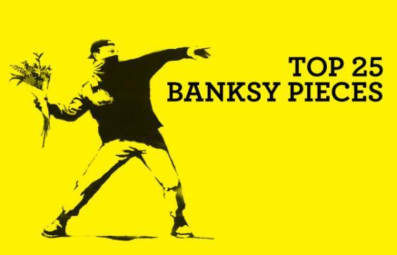 Top 25 Banksy Pieces