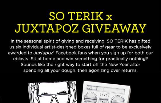 So Terik x Juxtapoz Giveaway