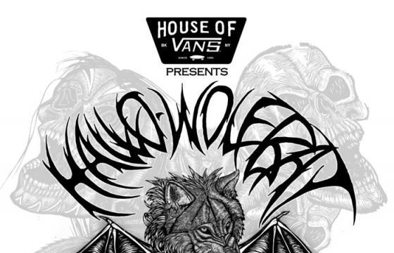 "Dennis McNett's ""HALLO-WOLFBAT"" @ House of Vans, Brooklyn"