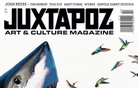 Juxtapoz Issue 109: February 2010 with Josh Keyes