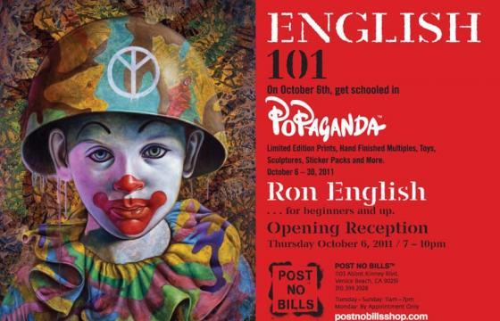 Ron English goes to Los Angeles for two shows