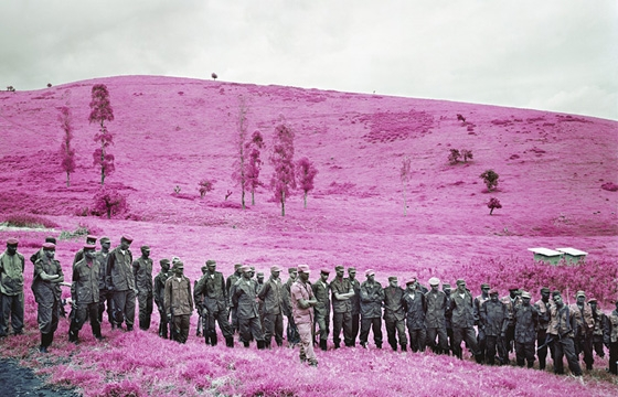 "Watch: Richard Mosse Talks His New Infrared Multi-Media Installation ""The Enclave"""