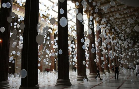 Balloon Rooms by William Forsythe