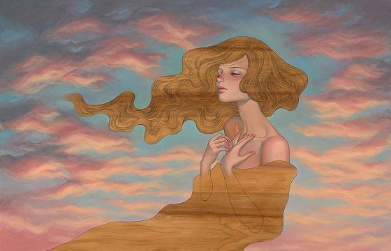 "Audrey Kawasaki ""Interlude"" @ Thinkspace Gallery"
