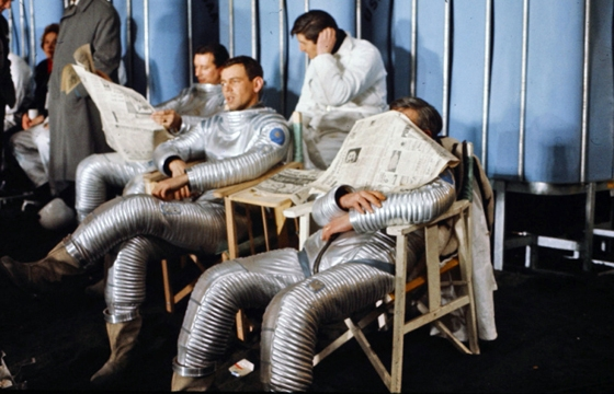 Behind the Scenes Photos From 2001: A Space Odyssey