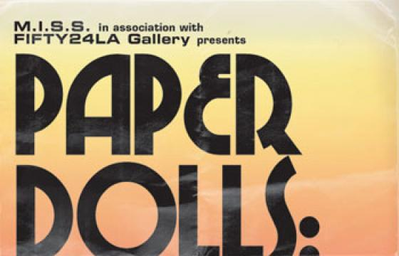Paper Dolls Group Show at FIFTY24LA Gallery