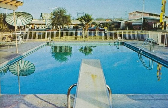 Ed Ruscha's Nine Swimming Pools and a Broken Glass