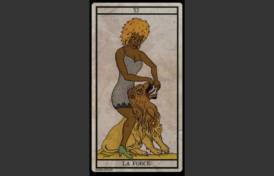 The Illustrated Black Power Tarot Deck